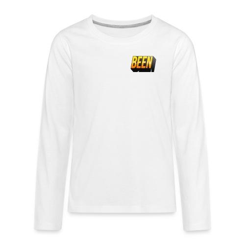 Design png - Teenagers' Premium Longsleeve Shirt