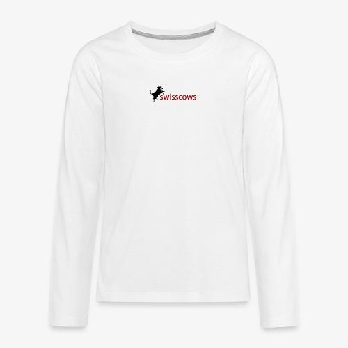 Männer T-Shirt - Teenager Premium Langarmshirt