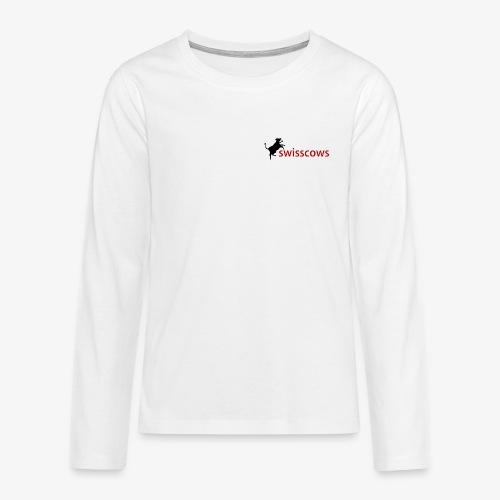 Swisscows - Teenager Premium Langarmshirt