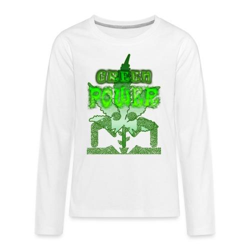 Green Power - T-shirt manches longues Premium Ado