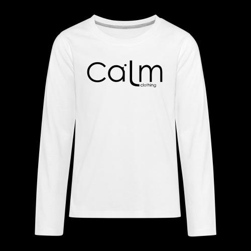 calm clothing - Teenagers' Premium Longsleeve Shirt