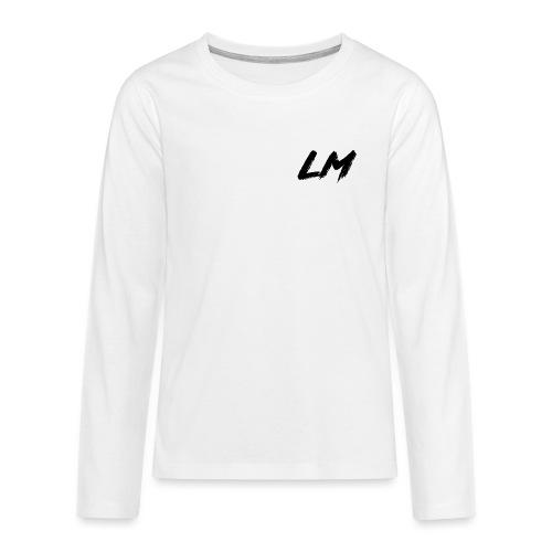 logobois png - Teenagers' Premium Longsleeve Shirt