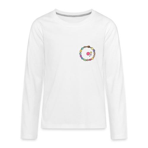 Astratto - Maglietta Premium a manica lunga per teenager