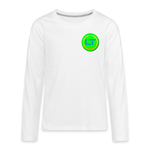 Tom LOGO - Teenagers' Premium Longsleeve Shirt