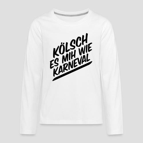 daeHoot Karneval - Teenager Premium Langarmshirt