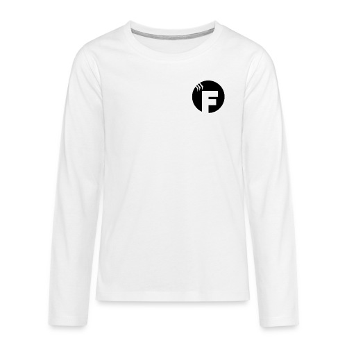 Team Finish Royale - Teenager Premium shirt met lange mouwen
