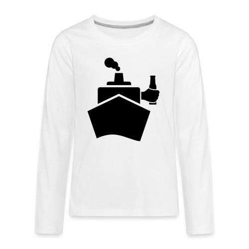 King of the boat - Teenager Premium Langarmshirt