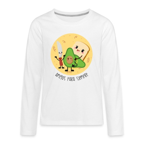 Amigos para siempre 2 - Camiseta de manga larga premium adolescente