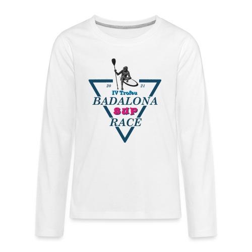 Badalona Sup Race 2021 - Camiseta de manga larga premium adolescente