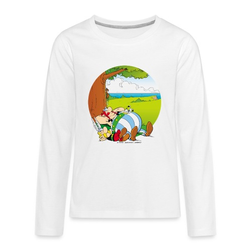 Astérix & Obélix Font Une Sieste - T-shirt manches longues Premium Ado