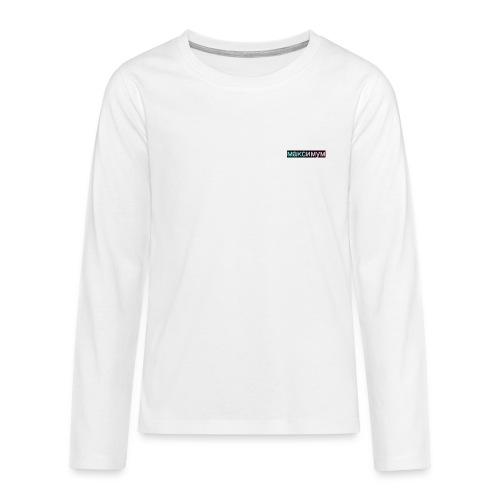 максимум - Teenager Premium Langarmshirt