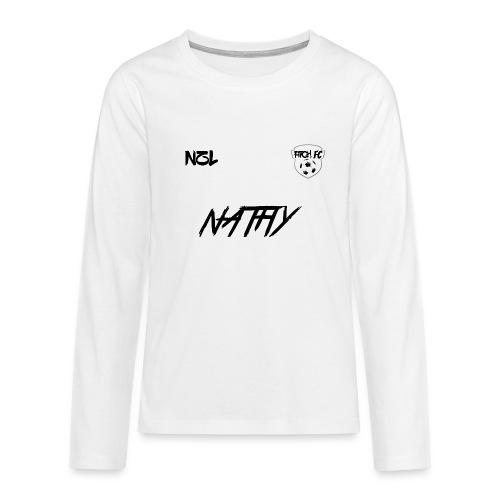 pitchfclogo png - Teenagers' Premium Longsleeve Shirt