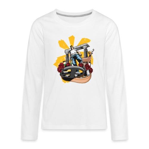 Detectorist experience - Camiseta de manga larga premium adolescente