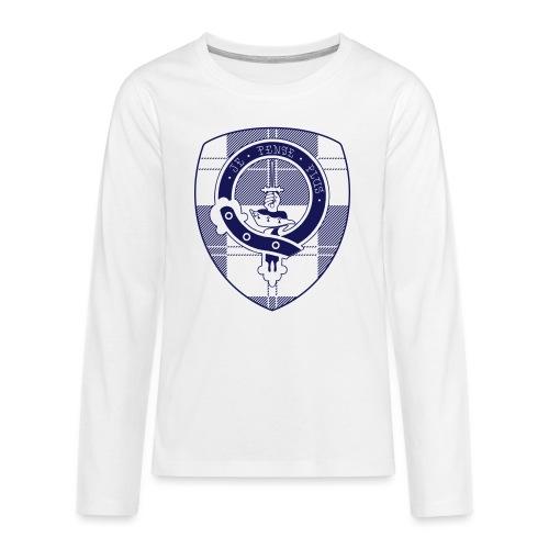 Logo Scouting Erskine 2018 - Teenager Premium shirt met lange mouwen