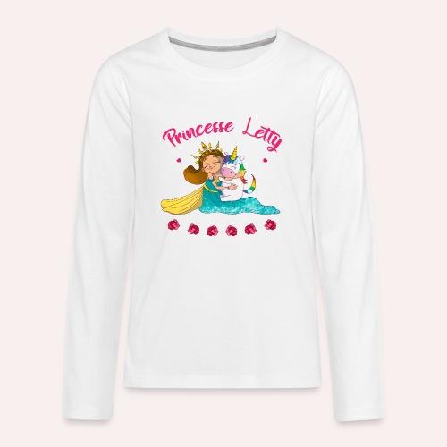 Princesse Letty - T-shirt manches longues Premium Ado