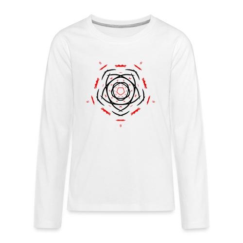 Symbol - Camiseta de manga larga premium adolescente