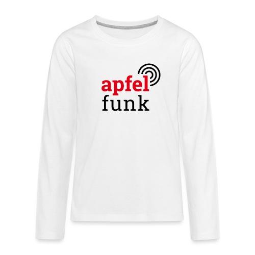 Apfelfunk Edition - Teenager Premium Langarmshirt