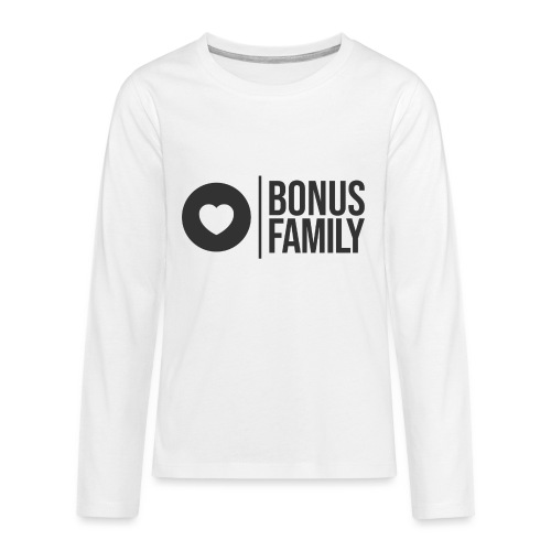 Bonus Family Design and Marketplace - Teinien premium pitkähihainen t-paita