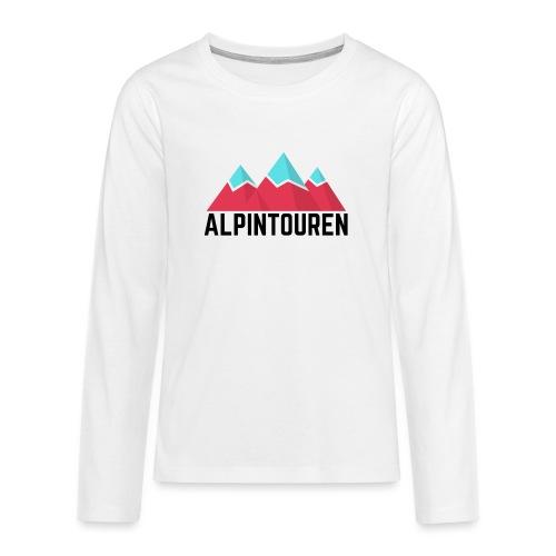 Alpintouren - Teenager Premium Langarmshirt