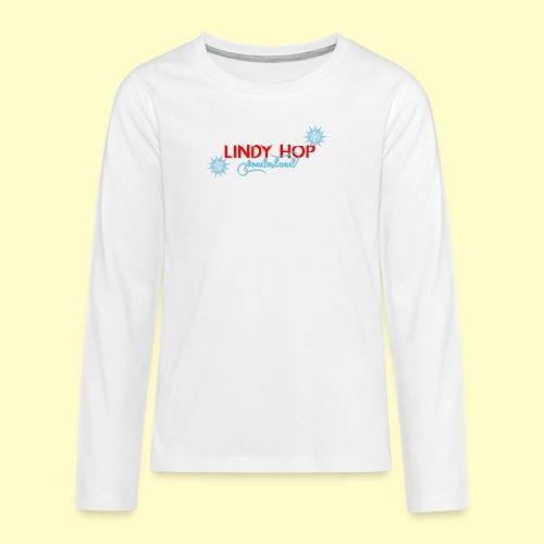 Lindy Hop Wonderland Tanz T-shirt - Teenager Premium Langarmshirt
