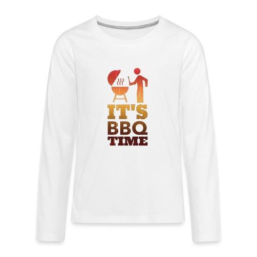 It's BBQ Time - Teenager Premium shirt met lange mouwen