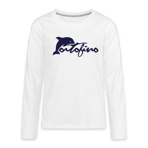 portofino 2019 NAVY - Teenagers' Premium Longsleeve Shirt