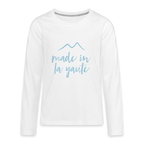 Made in la yaute - T-shirt manches longues Premium Ado
