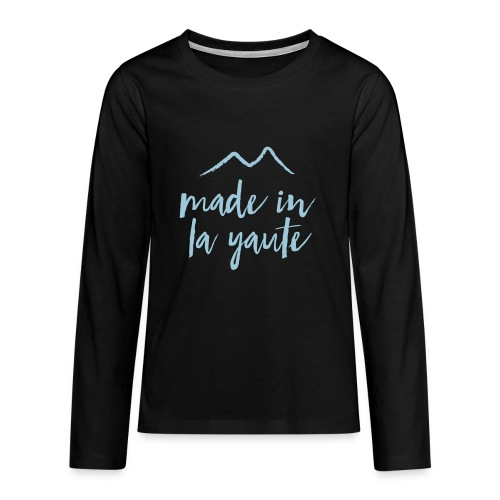 Made in la yaute - T-shirt manches longues Premium Ado