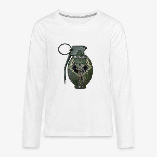 grenadearma3 png - Teenagers' Premium Longsleeve Shirt