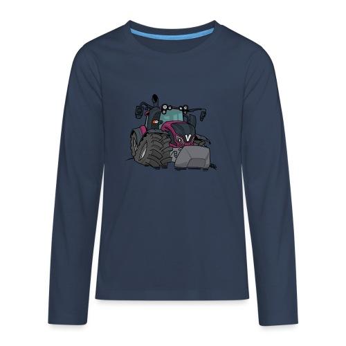 0920 V - Teenager Premium shirt met lange mouwen
