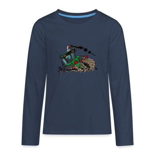 0921 JD stuck - Teenager Premium shirt met lange mouwen