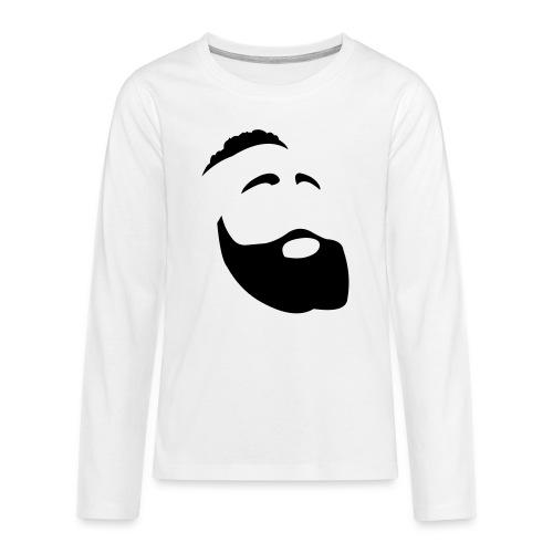 Il Barba, the Beard black - Maglietta Premium a manica lunga per teenager