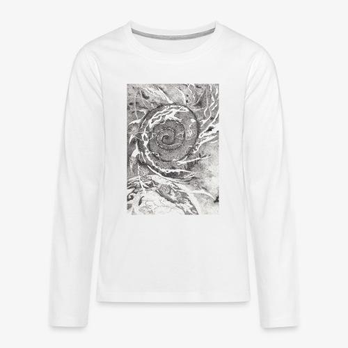 Decipher Entity by Rivinoya - Teinien premium pitkähihainen t-paita