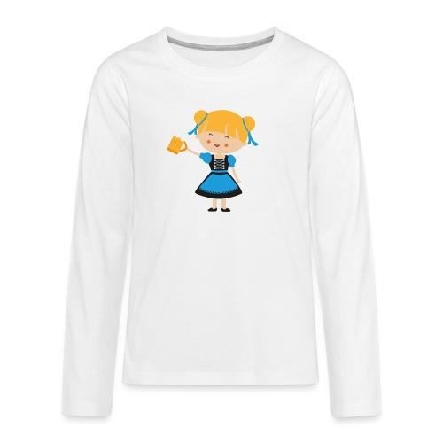 Happy Meitlis - Europa - Teenager Premium Langarmshirt