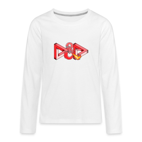 Pysyvät Dungeons and Dragons - dnd d & d - Teinien premium pitkähihainen t-paita