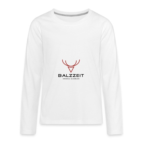 WUIDBUZZ | Balzzeit | Männersache - Teenager Premium Langarmshirt
