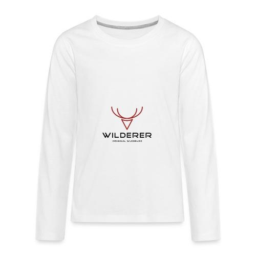 WUIDBUZZ | Wilderer | Männersache - Teenager Premium Langarmshirt