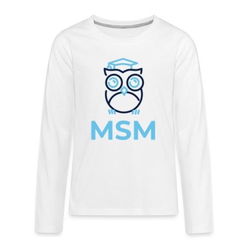MSM UGLE - Teenager premium T-shirt med lange ærmer