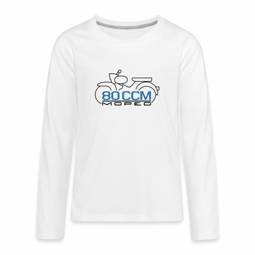 Moped Star 80 ccm Emblem - Teenagers' Premium Longsleeve Shirt