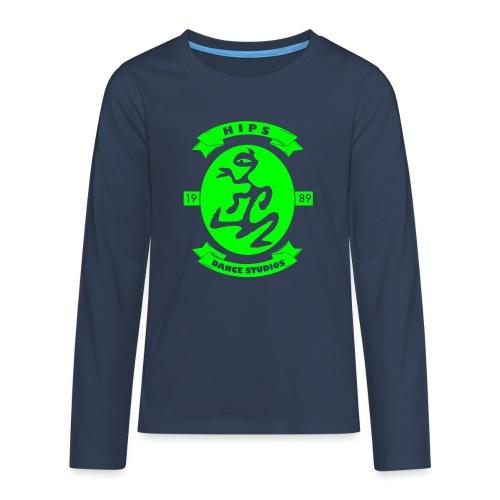 70th - Teenager premium T-shirt med lange ærmer