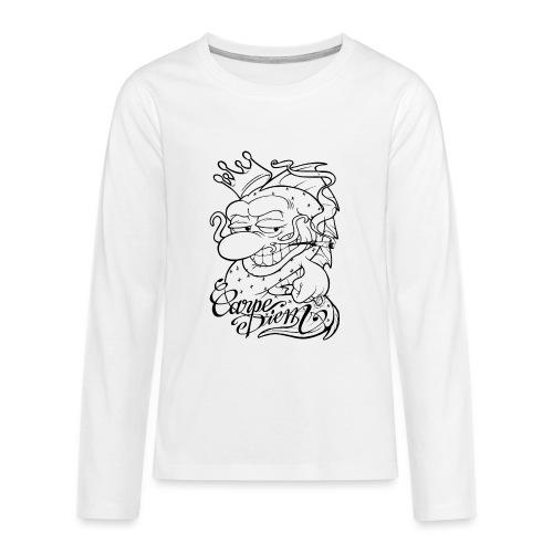 Carpe Diem - Comics Design - T-shirt manches longues Premium Ado
