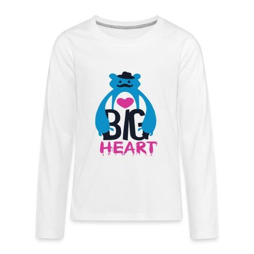 Big Heart Monster Hugs - Teenagers' Premium Longsleeve Shirt