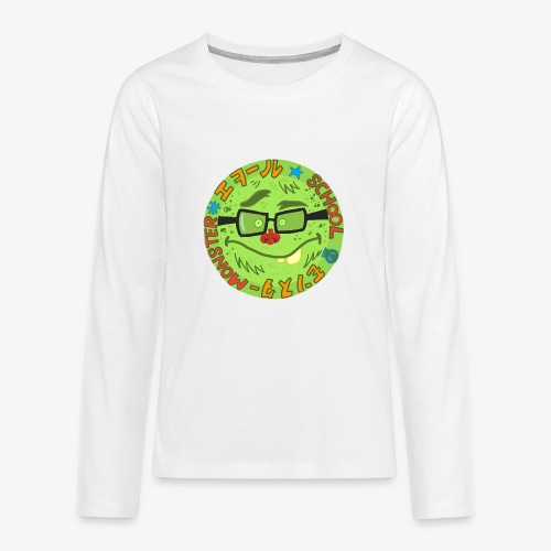 School.Monster - T-shirt manches longues Premium Ado