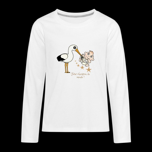 Foot futur champion - T-shirt manches longues Premium Ado
