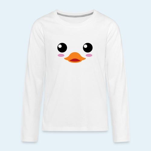 Pato bebé (Cachorros) - Camiseta de manga larga premium adolescente