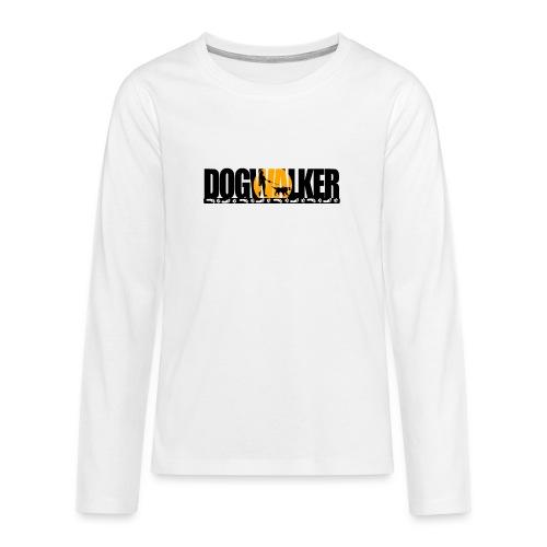 Dogwalker - Teenager Premium Langarmshirt