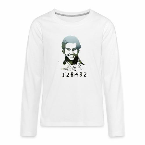 Pablo Escobar - Regenwald in Kolumbien - Teenager Premium Langarmshirt