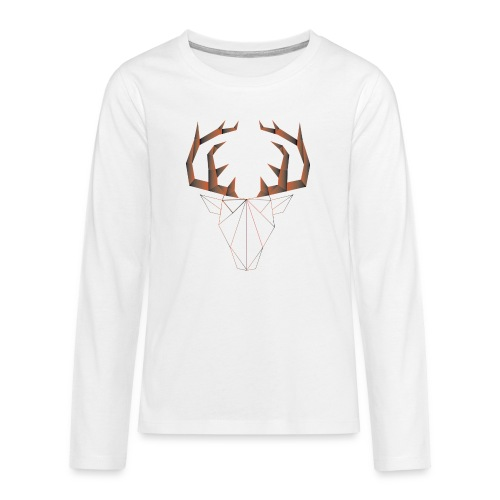 LOW ANIMALS POLY - T-shirt manches longues Premium Ado