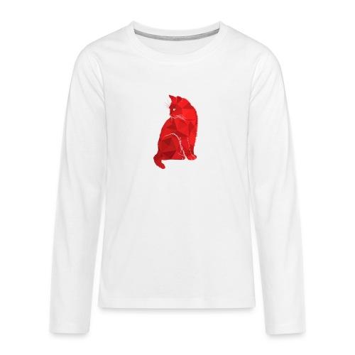 Cat - Teenager Premium Langarmshirt