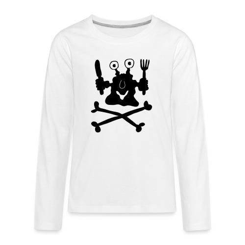 Koch - Teenager Premium Langarmshirt